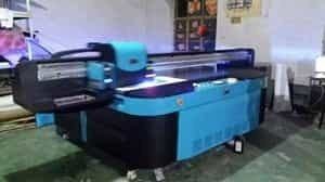 奉化市理光uv平板打印机用户陈总上门维修
