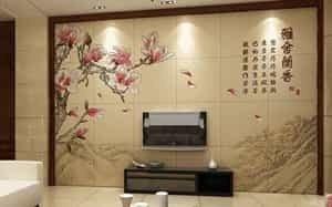 瓷砖背景墙uv打印加工