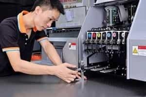 uv打印机维修过程