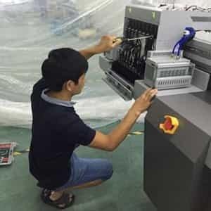 理光uv平板打印机喷头维修