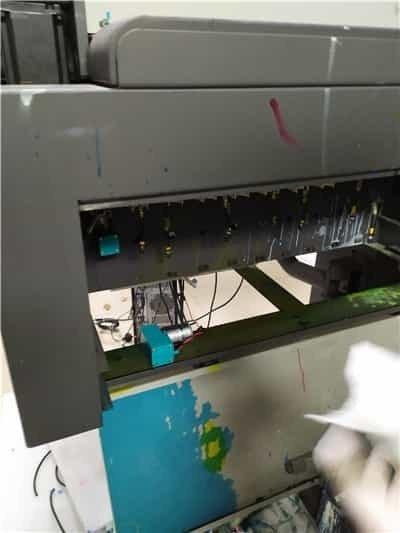 安装300ml墨泵